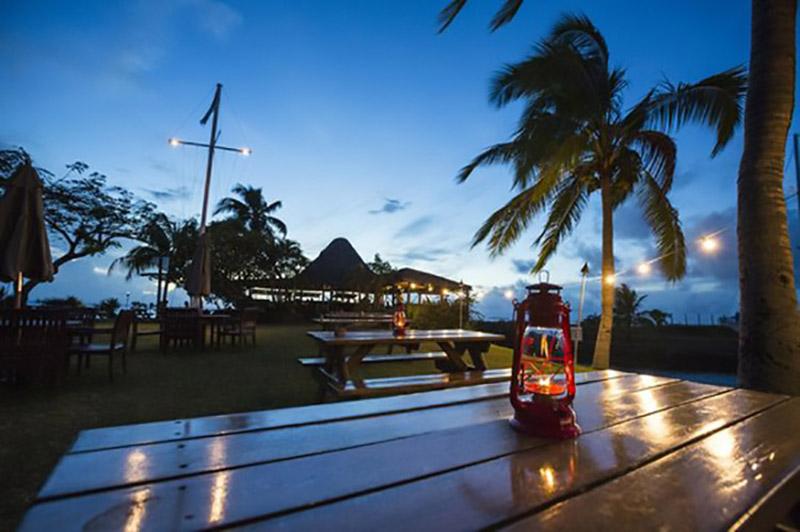 The Boatshed Restaurant and Lifeboat Bar at Vuda Marina