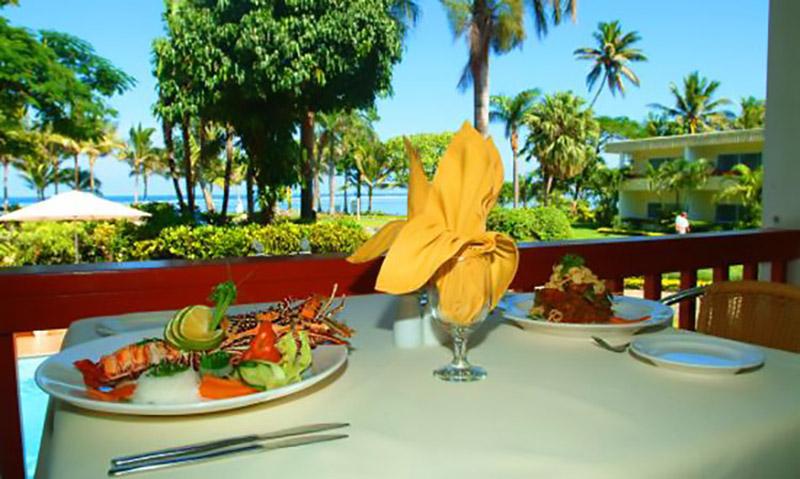 Ocean Terrace Restaurant at Sheraton Fiji Resort