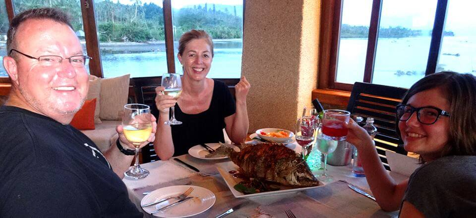 Latitude 17 Restaurant at Koro Sun Resort and Spa