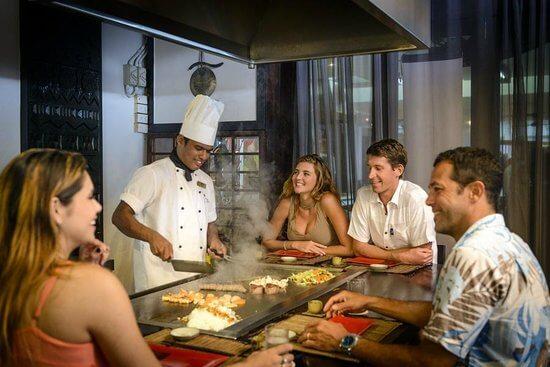 Sazanami Restaurant at Warwick Fiji